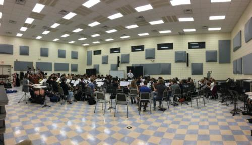 Rehearsal with ASO
